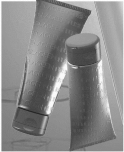 LageenTubes presents plastic tubes with tactile effect